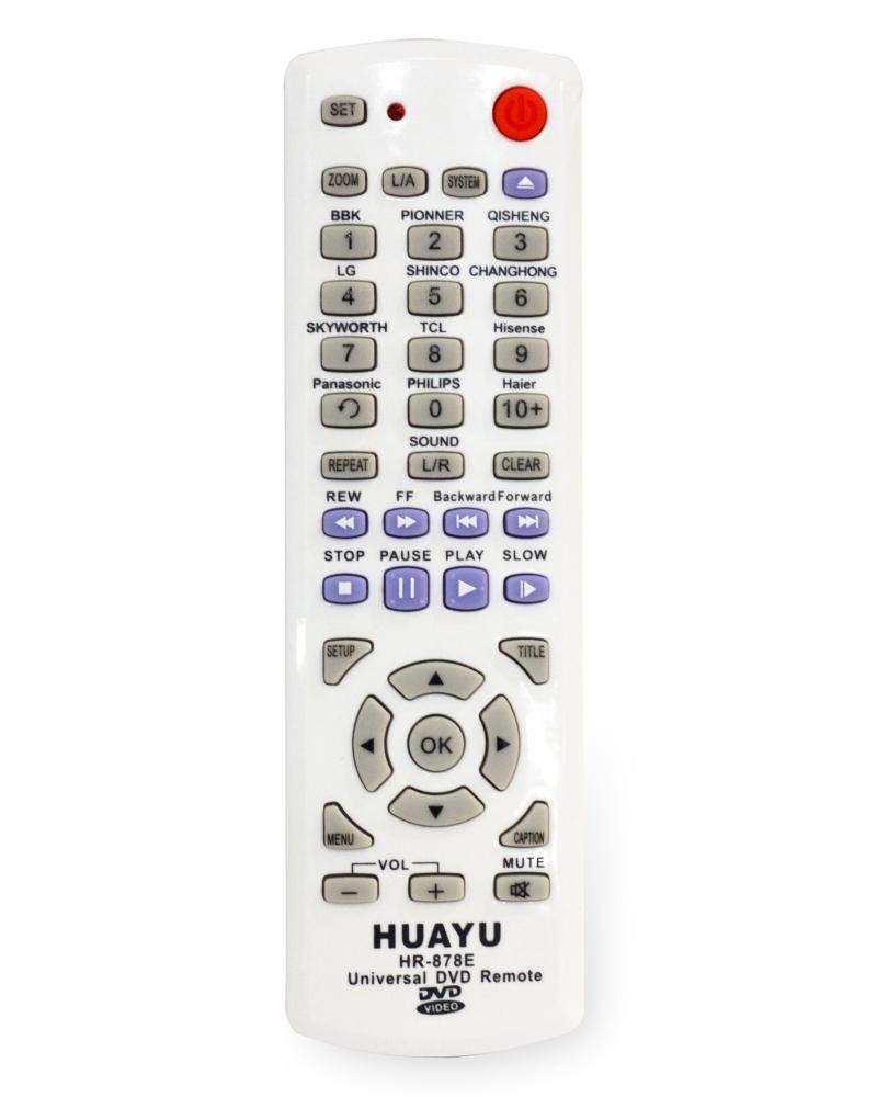 codigos de control universal para dvd